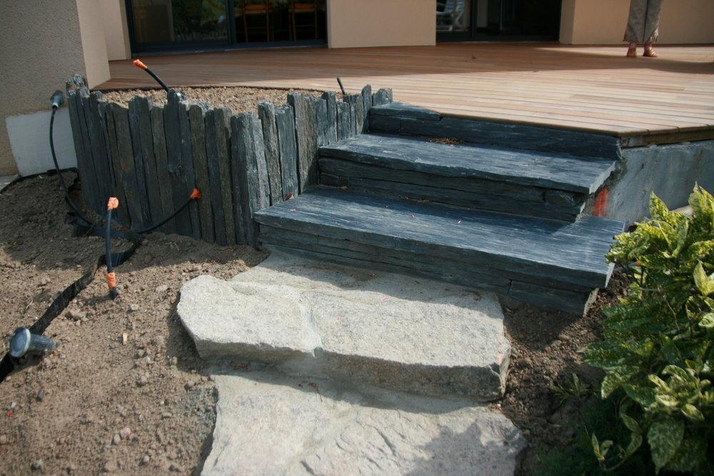 Nivrem com = Terrasse Bois Et Marche ~ Diverses idées de conception de patio en bois pour votre  # Marche Terrasse Bois