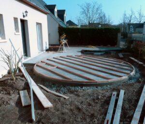 Lambournes Terrasse bois