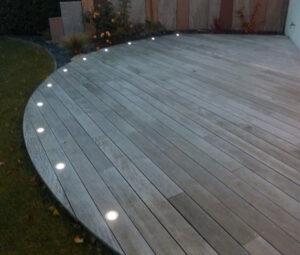 Éclairage terrasse avec leds