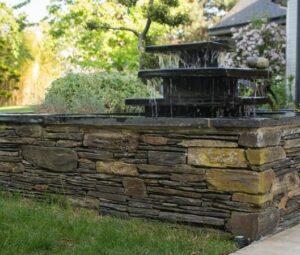 Fontaine ardoise