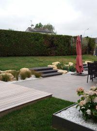 terrasses bois grès céramique dans Home page